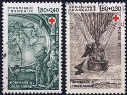 2247 2248 CROIX ROUGE   Oblitéré ANNEE 1982 - Frankreich