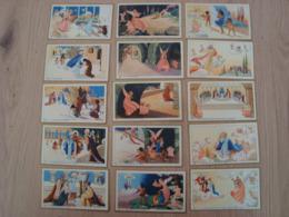 LOT DE 15 IMAGES RELIGIEUSES LES XV MYSTERES DU ROSAIRE - Devotion Images