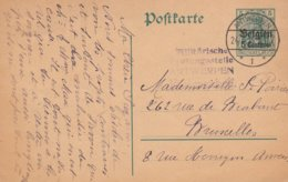 Censure Antwerpen 22/03/15 - German Occupation