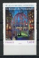 RC 13758 FRANCE N° 525 OTHONIEL LE KIOSQUE DES NOCTAMBULES AUTOADHÉSIF COTE 7€ TB NEUF ** - Frankreich