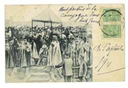 CPA RUSSIE BENEDICTION ORTHODOXE ? 1911 - Russie