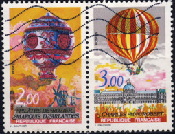 2261 2262  200 Ans De AIR Et ESPACE  Oblitéré ANNEE 1983 - Frankreich