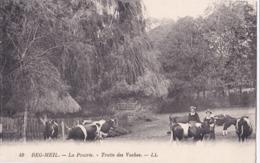 BEG-MEIL (29) Traite Des Vaches Dans La Prairie - Beg Meil