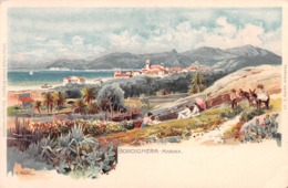 BORDIGHERA - MARINA - ARTIST SIGNED H. NESTEL~ AN OLD POSTCARD  #96510 - Italy