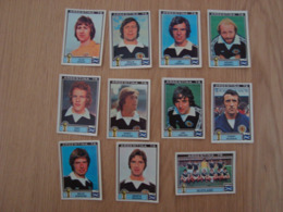LOT DE 11 IMAGES FOOTBALL ARGENTINA 78 WORLD CUP SCOTLAND - Panini