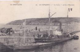 """LE CONQUET (29)  Bateau D'Ouessant  """" La Louise """" - Le Conquet"""