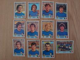 LOT DE 12 IMAGES FOOTBALL ARGENTINA 78 WORLD CUP ITALIE - Edition Française