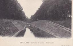 Saône-et-Loire - Génelard - Le Canal Du Centre - La Tranchée - France