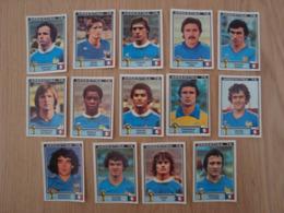 LOT DE 14 IMAGES FOOTBALL ARGENTINA 78 WORLD CUP FRANCE - Edition Française