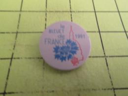 412d PINS PIN'S / Beau Et Rare : Thème MILITARIA / LE BLEUET DE FRANCE ASSOCIATION 1991 - Militaria
