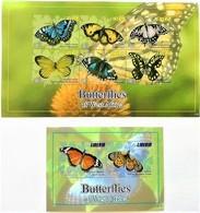 # Liberia 2011**Mi.5963-70  Butterflies , MNH [16;1] - Schmetterlinge