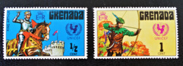 UNICEF 1972 - NEUFS ** - YT 419/20 - MI 440/41 - Grenade (1974-...)