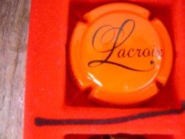 * Capsule De Champagne LACROIX   * - Capsules & Plaques De Muselet