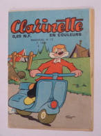 BD  ---     CLARINETTE   N° 12 - Magazines Et Périodiques