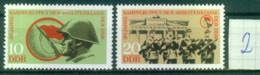 DDR 1973 / MiNr.   1874 - 1875   ** / MNH (L267) - Unused Stamps