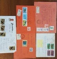 Lotto 028 5  Lettere Con Commemorativi Affranc Multiple Anni 70  026 - 6. 1946-.. Repubblica