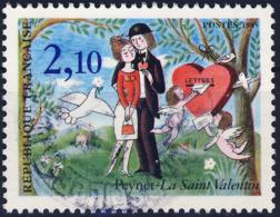 2354  LES AMOUREUX De PEYNET  Oblitéré ANNEE 1985 - Frankreich