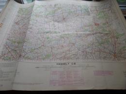 HASSELT C8 - 1/100.000 ( Edit./ Uitg. 1957 ) Stafkaart IGMB M 632 ! - Europe