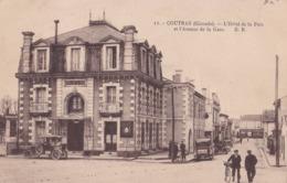 COUTRAS (33)  Hotel De La Paix Avenue De La Gare - France