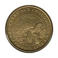 26001 - MEDAILLE TOURISTIQUE MONNAIE DE PARIS 26 - Ferme Aux Crocodiles - 2005 - Monnaie De Paris