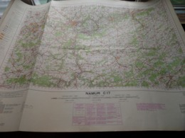 NAMUR C17 - 1/100.000 ( Edit./ Uitg. 1957 ) Stafkaart IGMB M 632 ! - Europe