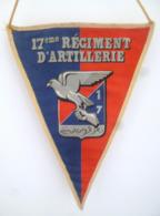 FANION 17° RA REGIMENT D' ARTILLERIE BCS - Drapeaux