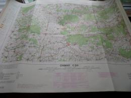 CHIMAY C20 - 1/100.000 ( Edit./ Uitg. 1957 ) Stafkaart IGMB M 632 ! - Europe