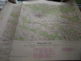 BOUILLON C23 - 1/100.000 ( Edit./ Uitg. 1957 ) Stafkaart IGMB M 632 ! - Europe