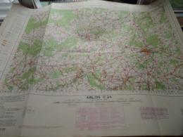 ARLON C24 - 1/100.000 ( Edit./ Uitg. 1957 ) Stafkaart IGMB M 632 ! - Europe