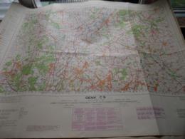 GENK C9 - 1/100.000 ( Edit./ Uitg. 1955 ) Stafkaart IGMB M 632 ! - Europe