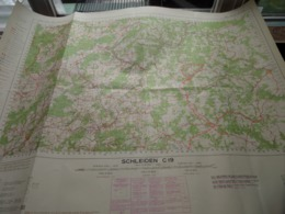 SCHLEIDEN C19 - 1/100.000 ( Edit./ Uitg. 1955 ) Stafkaart IGMB M 632 ! - Europe