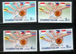 Thailand Stamp 1987 20th Ann Of ASEAN - Thailand