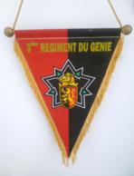 FANION 3° RG REGIMENT DU GENIE ARDENNES - Drapeaux