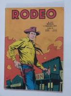 BD  ---    RODEO  N° 337  Avec  TEX WILLER - Rodeo