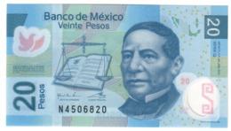 Mexico 20 Pesos 24/06/2011 UNC .PL. - Mexico