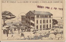 VILLE De CHAVILLE -Colonie De Vacances A Chatelaillon - Chaville