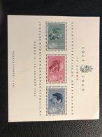 FL 1962 Zumstein-Nr. 32 Wohltätigkeit - Block ** Postfrisch - Blocks & Sheetlets & Panes