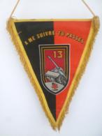 FANION 13° RG REGIMENT DU GENIE 1ère DB TREVES - Flags