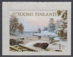 Finland 2007 - Winter Landscape: Haminalahti - Self-adhesive Stamp Mi 1827 MNH ** - Finland