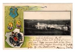 Ansichtskarte Mit Prägedruck, Ravelsbach, 1903 - Hollabrunn