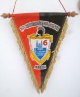 FANION 6° RG REGIMENT DU GENIE ANGERS - Flags
