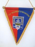FANION 110° RI REGIMENT D' INFANTERIE - Drapeaux