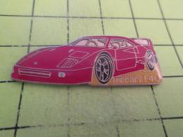 415c PINS PIN'S / Beau Et Rare : Thème AUTOMOBILES / FERRARI F40 Grand Pin's - Ferrari