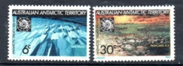 AAT Australian Antarctic Territory Michel 19-20 MNH - Nuevos