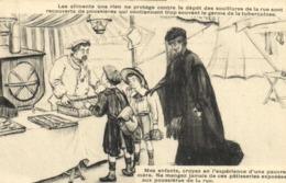 Illustrateur Société De Preservation Contre La Tuberculose Mes Enfants ,croyez En L'experience D'une Pauvre Mère ... - Santé