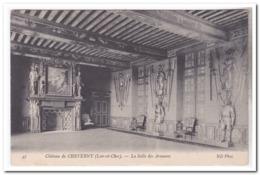 Chateau De Cheverny, La Salle Des Armures - Cheverny
