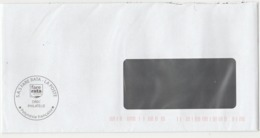 Enveloppe Du Service Philatélique De La Poste Polynésie Française OPT Rebaptisé SAS FARE SATA LA POSTE DREC PHILATELIE - Polynésie Française