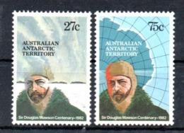 AAT Australian Antarctic Territory Michel 53-54 MNH - Nuevos