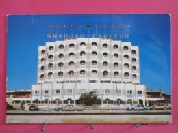 Visuel Très Peu Courant - Emirats Arabes Unis - Sharjah - Carlton Hotel - Scans Recto Verso - Emirats Arabes Unis