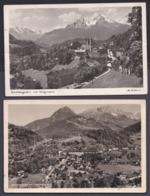 Jg_ 2 Ansichtskarten Berchtesgaden - Gebraucht Used - 1950 - Berchtesgaden